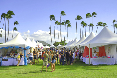 Made in Maui County Festival - crowd