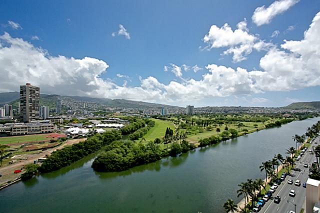 Ala Wai Canal View Condo Waikiki Oahu