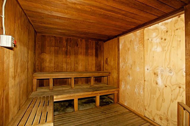 Waikiki One Bedroom Condominium Sauna Amenity