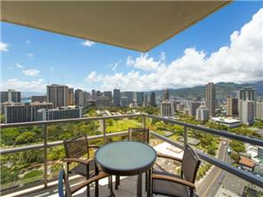 Take in the incredible views from your own lanai overlooking Waikiki!
