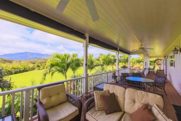 Kauai Plantation Home Lanai