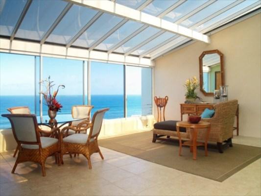 princeville luxury penthouse atrium