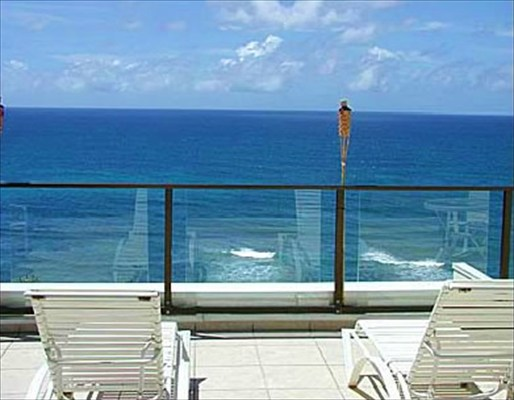 princeville luxury penthouse lanai