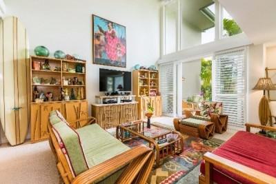 4100 Queen Emma Drive #74B - living room