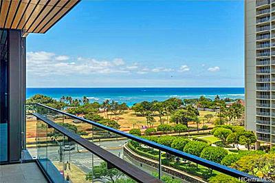1388 Ala Moana Boulevard Honolulu #1706 - ocean view