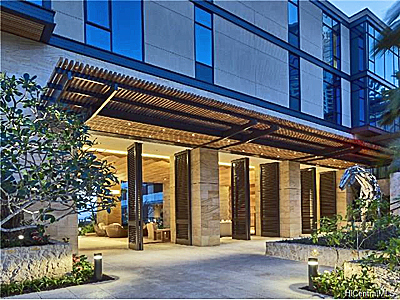 1388 Ala Moana Boulevard Honolulu #1706 - lobby