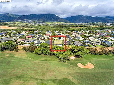 The Island at Maui Lani - aerial2