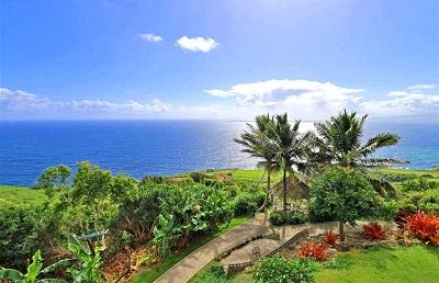 Maui Ranch - aerial gazebo