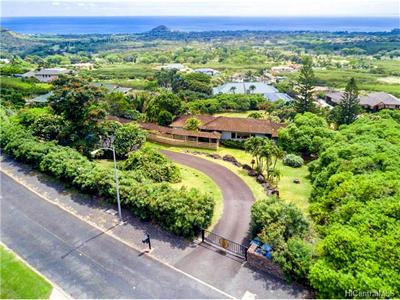 Makaha Home - aerial