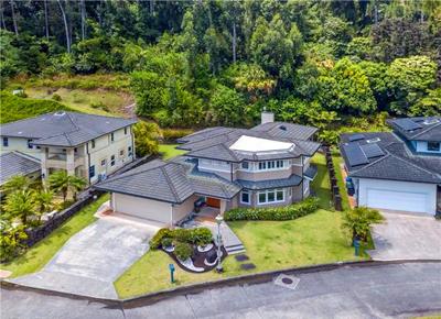 Oahu Luxury Home _Nuuanu - aerial