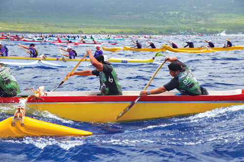 Queen Liliuokalani Long Distance Outrigger Canoe Races - 3