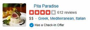 Restaurants in Wailea - pita paradise