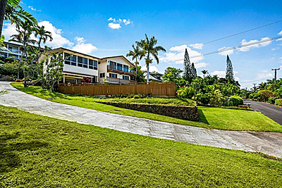 Kona Home at Holualoa Estates - exterior front