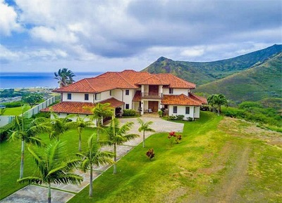 Luxury Estate at Na Pali Haweo - aerial