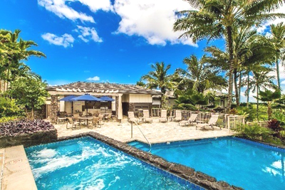 Luxury Townhouse at Kaiulani Of Princeville - pool