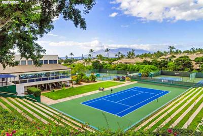 Ocean View Wailea Condo - tennis