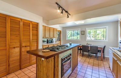 Upcountry Maui Home - kitchen