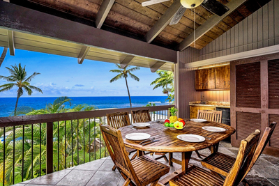 Big Island Ocean View Condo - lanai